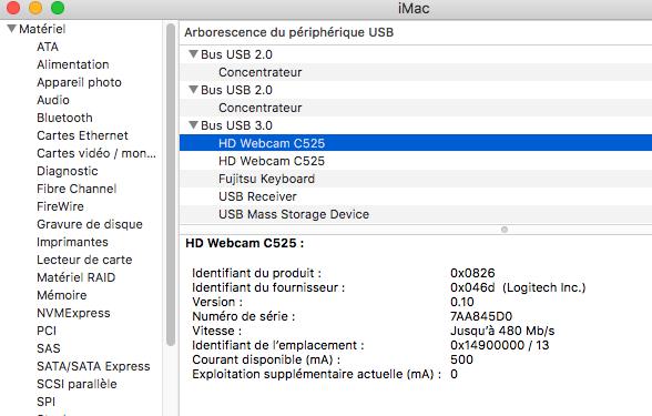 Probleme WEBCAM USB Sierra Captur10