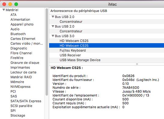 Probleme WEBCAM USB Sierra Captur12