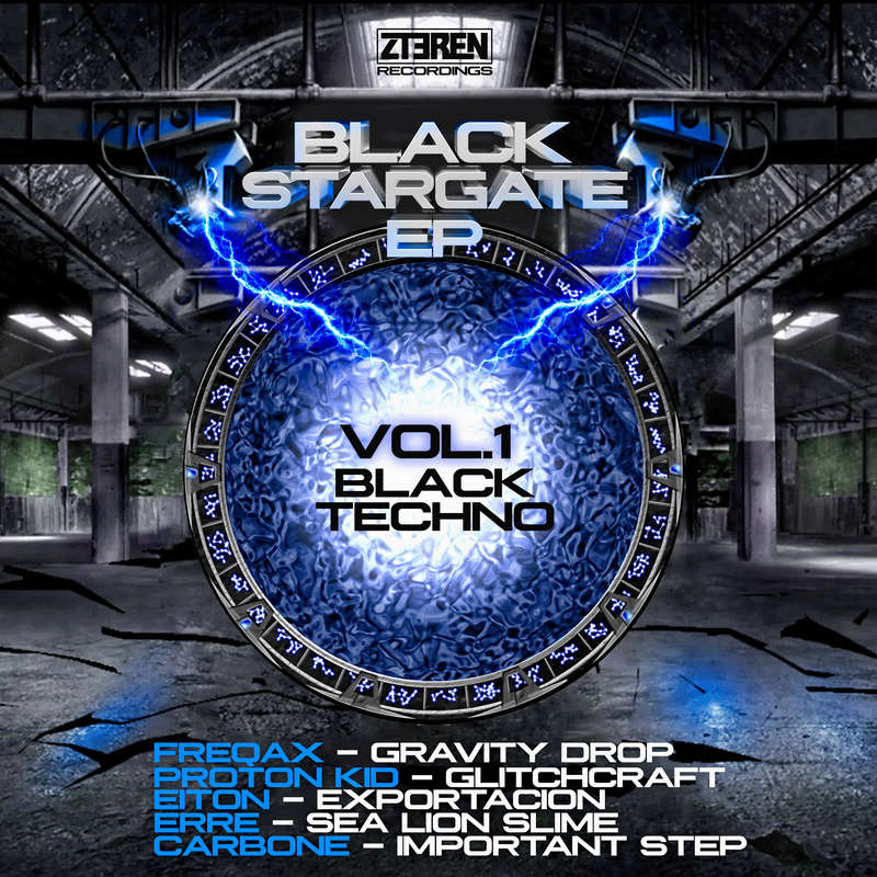 BLACK STARGATE Ep _ VOLUME 1, BLACK TECHNO Black_10