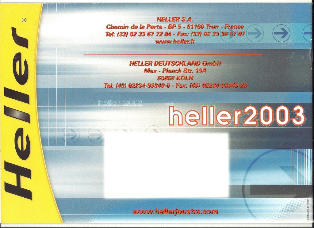 [2003] Catalogue de la gamme KIT 2003 Hell1483