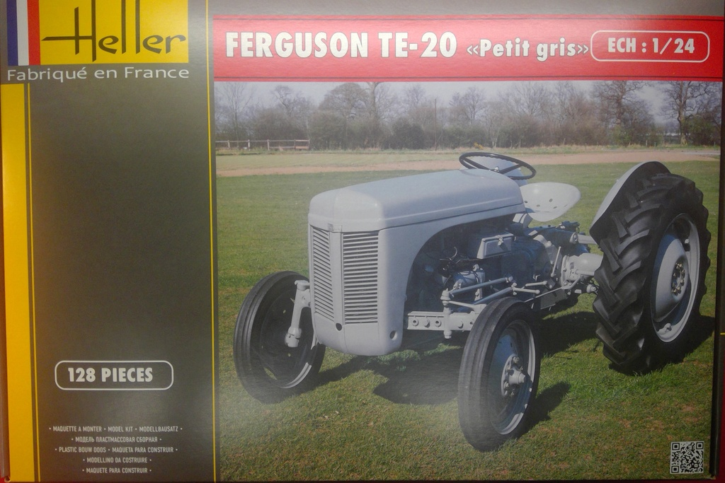 FERGUSSON TE 20 - FF 30 Réf 81401 1/24ème  Hell1828