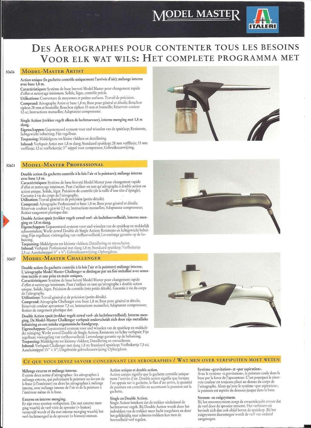 [ITALERI 1992] MODEL MASTER Catalogue 1992 Italer18