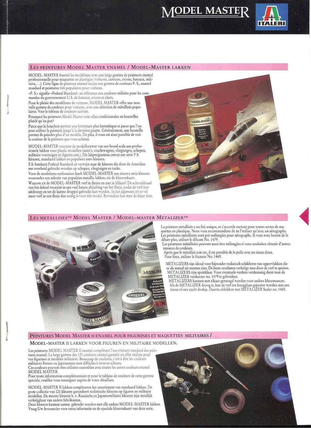 [ITALERI 1992] MODEL MASTER Catalogue 1992 Italer19