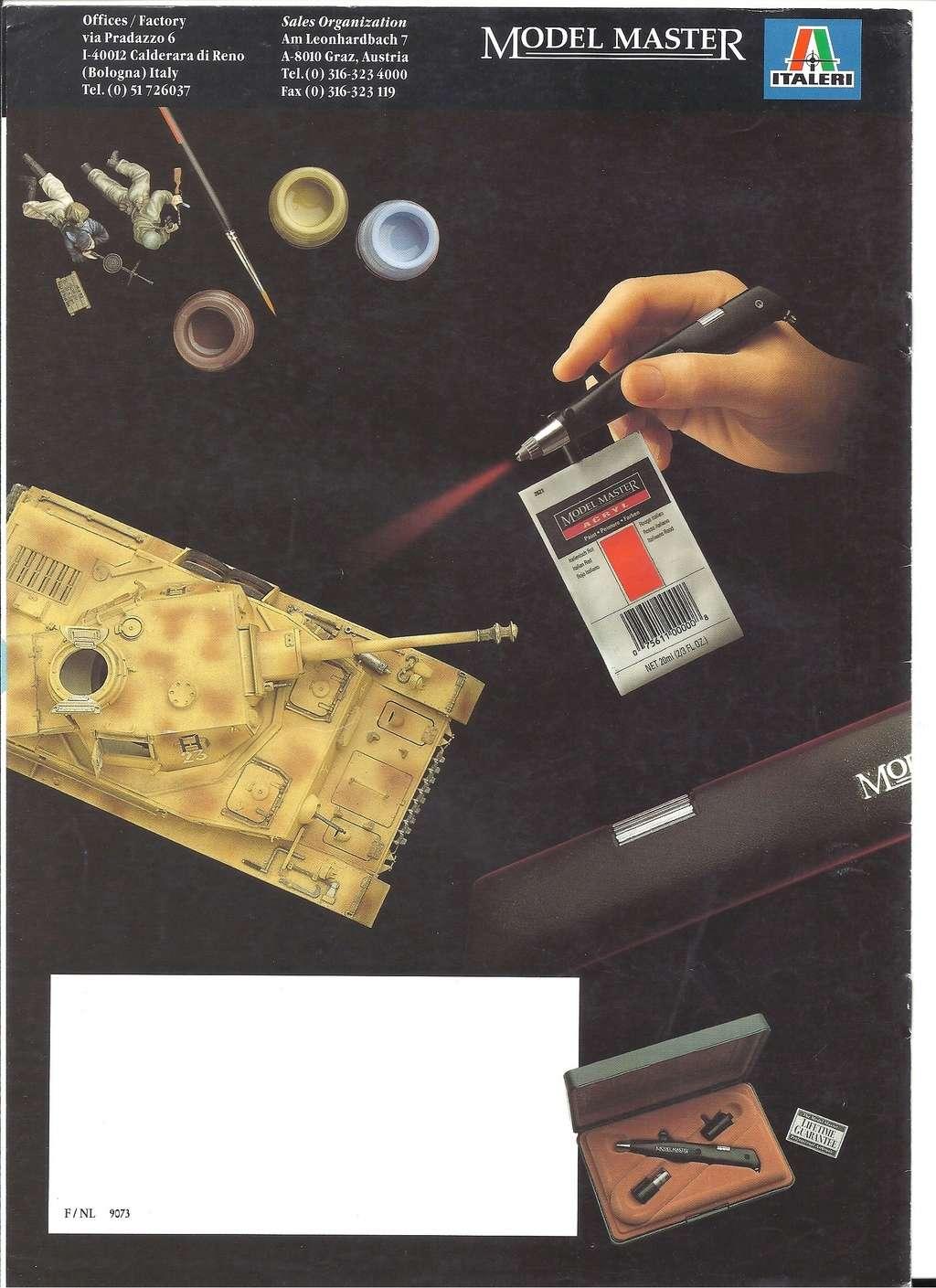 [ITALERI 1992] MODEL MASTER Catalogue 1992 Italer24