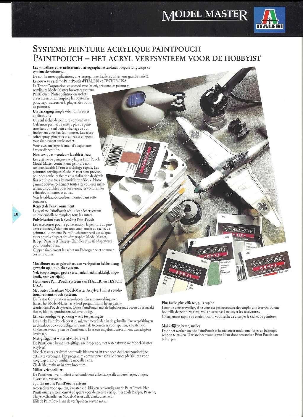 [ITALERI 1992] MODEL MASTER Catalogue 1992 Italer25