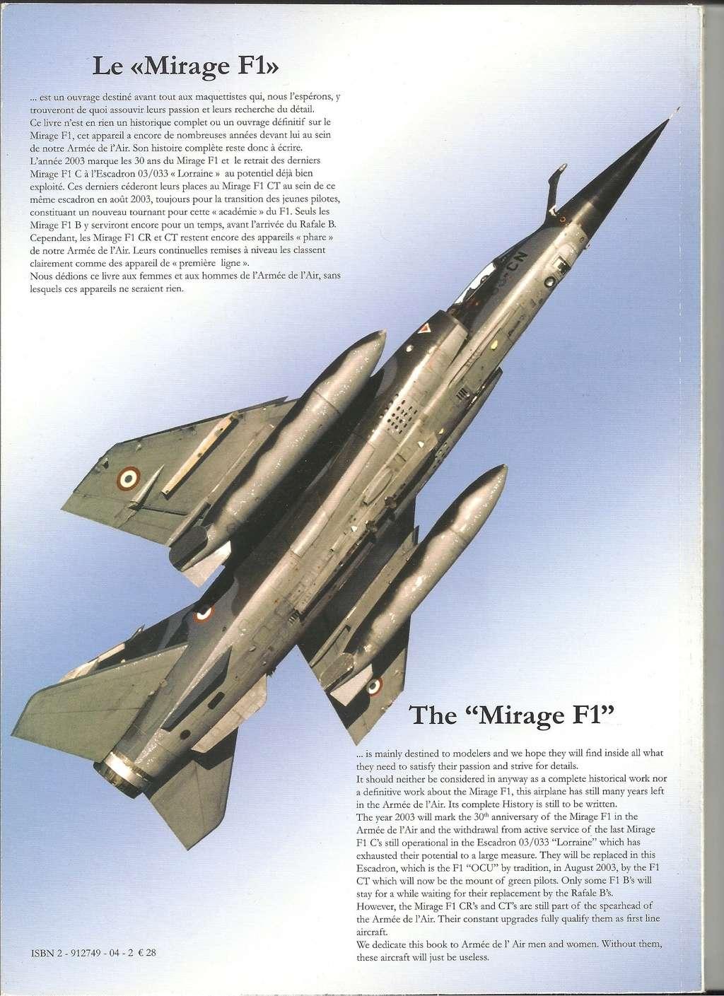 HORS SERIE N°1 : Mirage F1 de chez COCARDES Livre_18