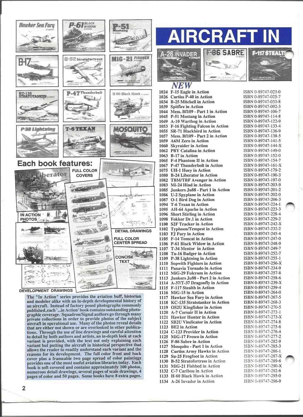 [SQUADRON /SIGNAL PUBLICATIONS 1993] Catalogue 1993 Squadr17