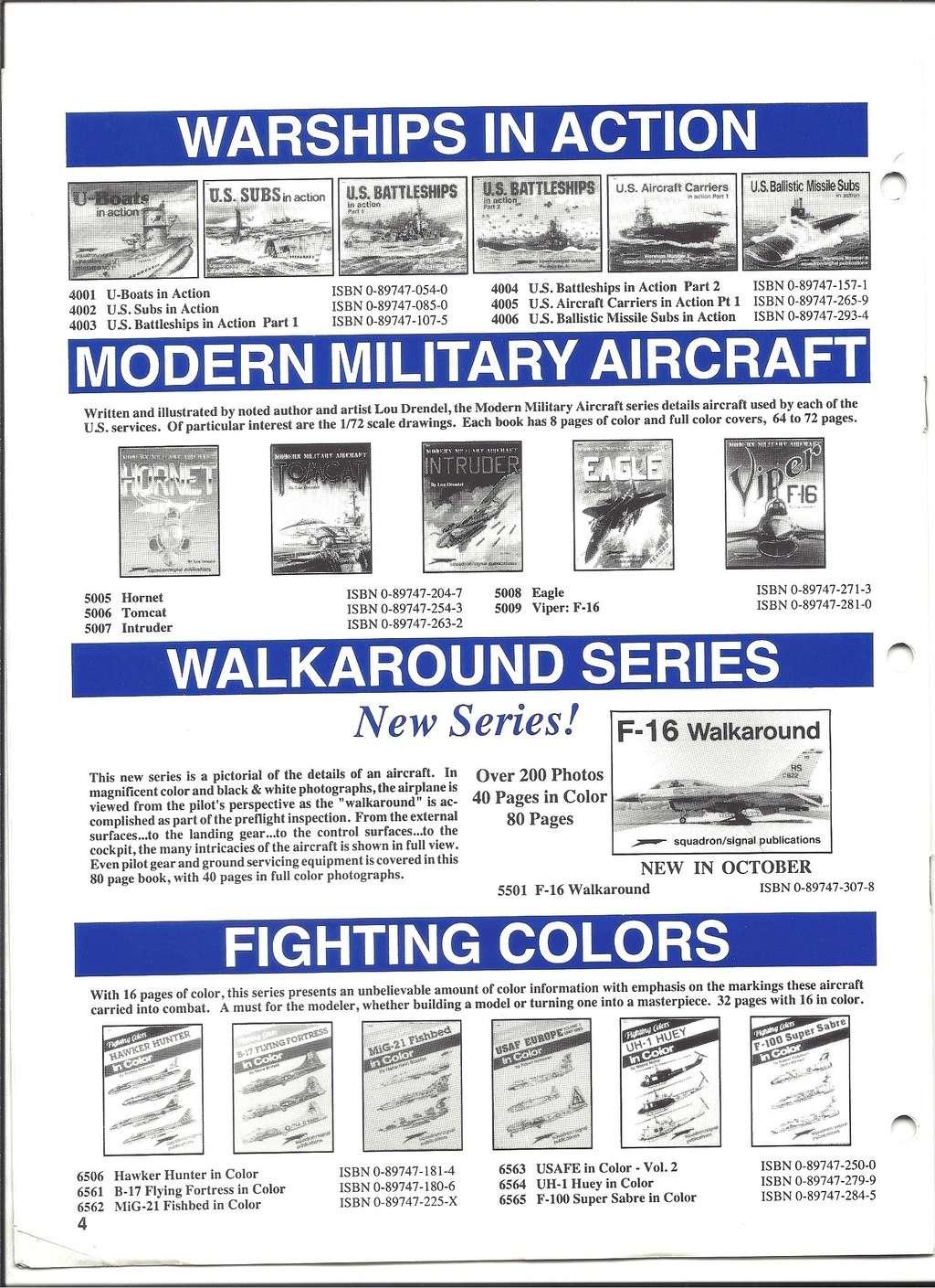 [SQUADRON /SIGNAL PUBLICATIONS 1993] Catalogue 1993 Squadr18