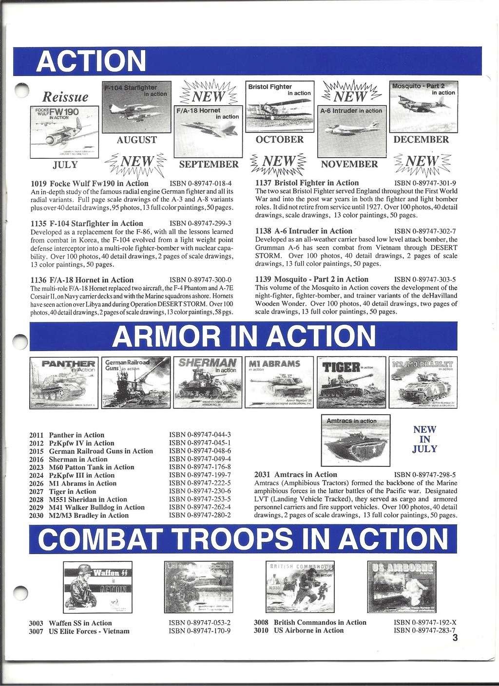 [SQUADRON /SIGNAL PUBLICATIONS 1993] Catalogue 1993 Squadr19