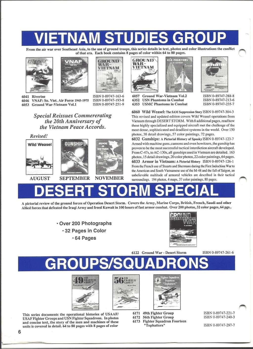 [SQUADRON /SIGNAL PUBLICATIONS 1993] Catalogue 1993 Squadr20