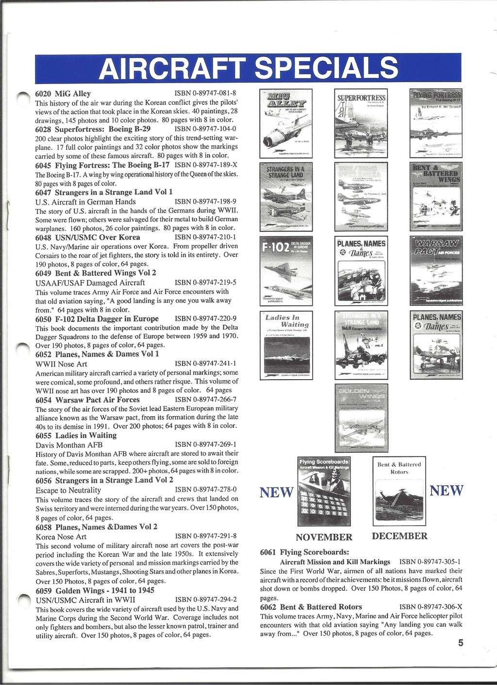 [SQUADRON /SIGNAL PUBLICATIONS 1993] Catalogue 1993 Squadr21