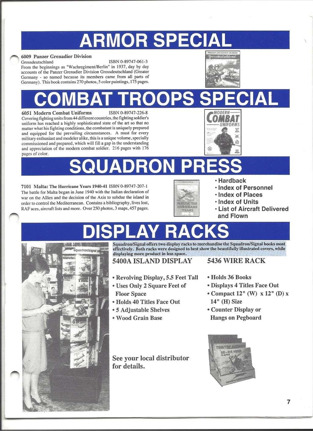 [SQUADRON /SIGNAL PUBLICATIONS 1993] Catalogue 1993 Squadr22