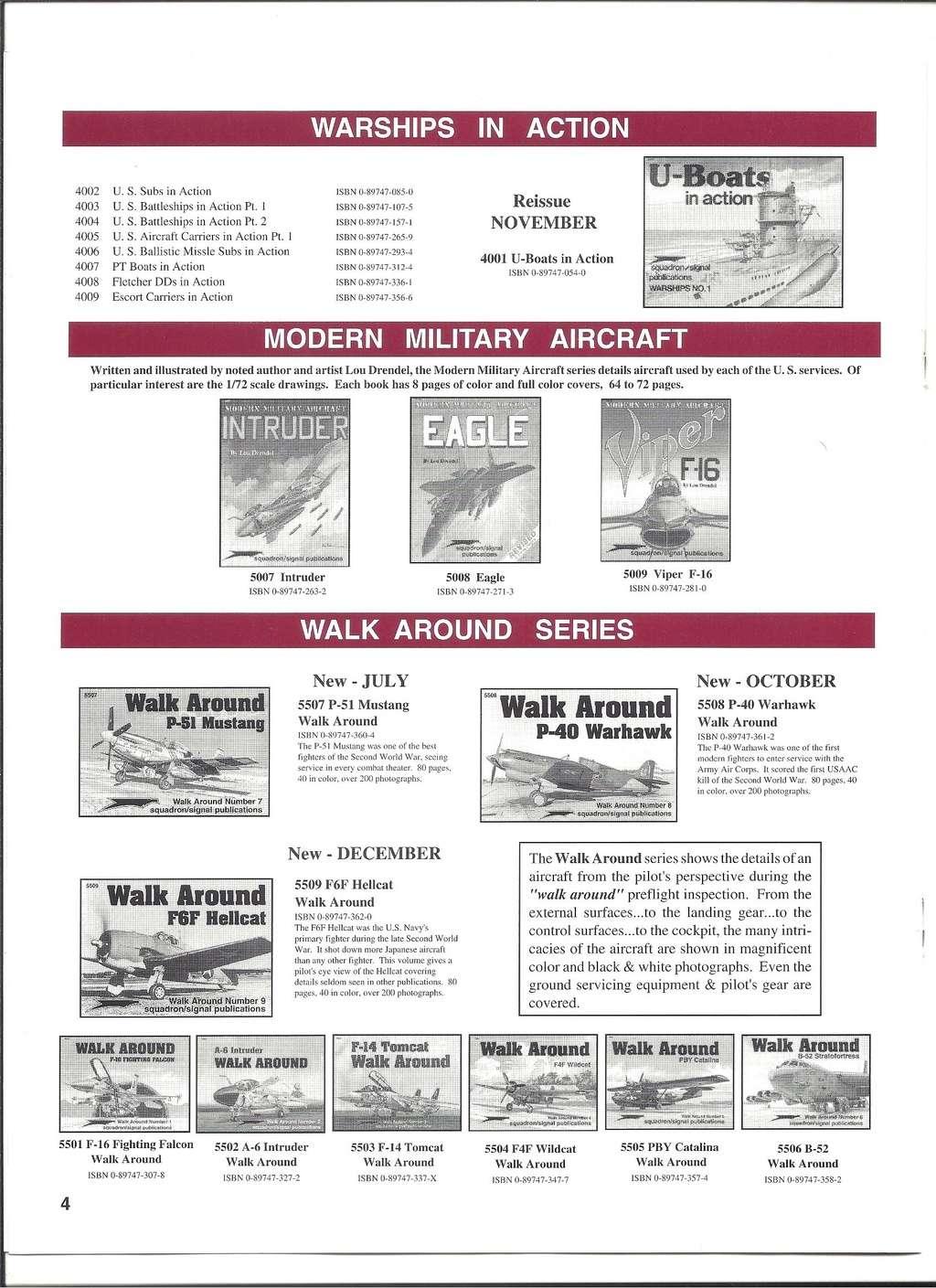 [SQUADRON/ SIGNAL PUBLICATIONS 1996] Catalogue 1996 Squadr24