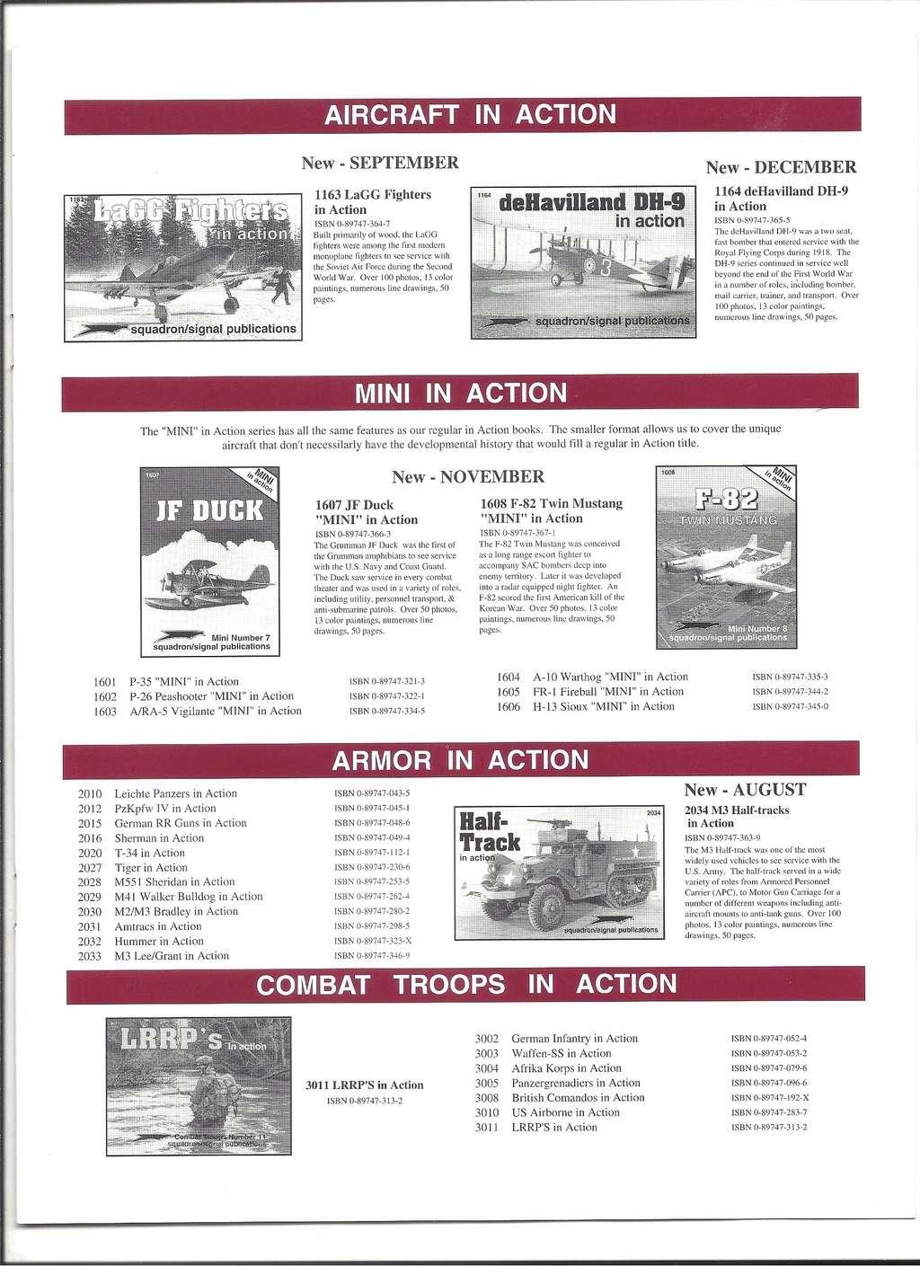 [SQUADRON/ SIGNAL PUBLICATIONS 1996] Catalogue 1996 Squadr26