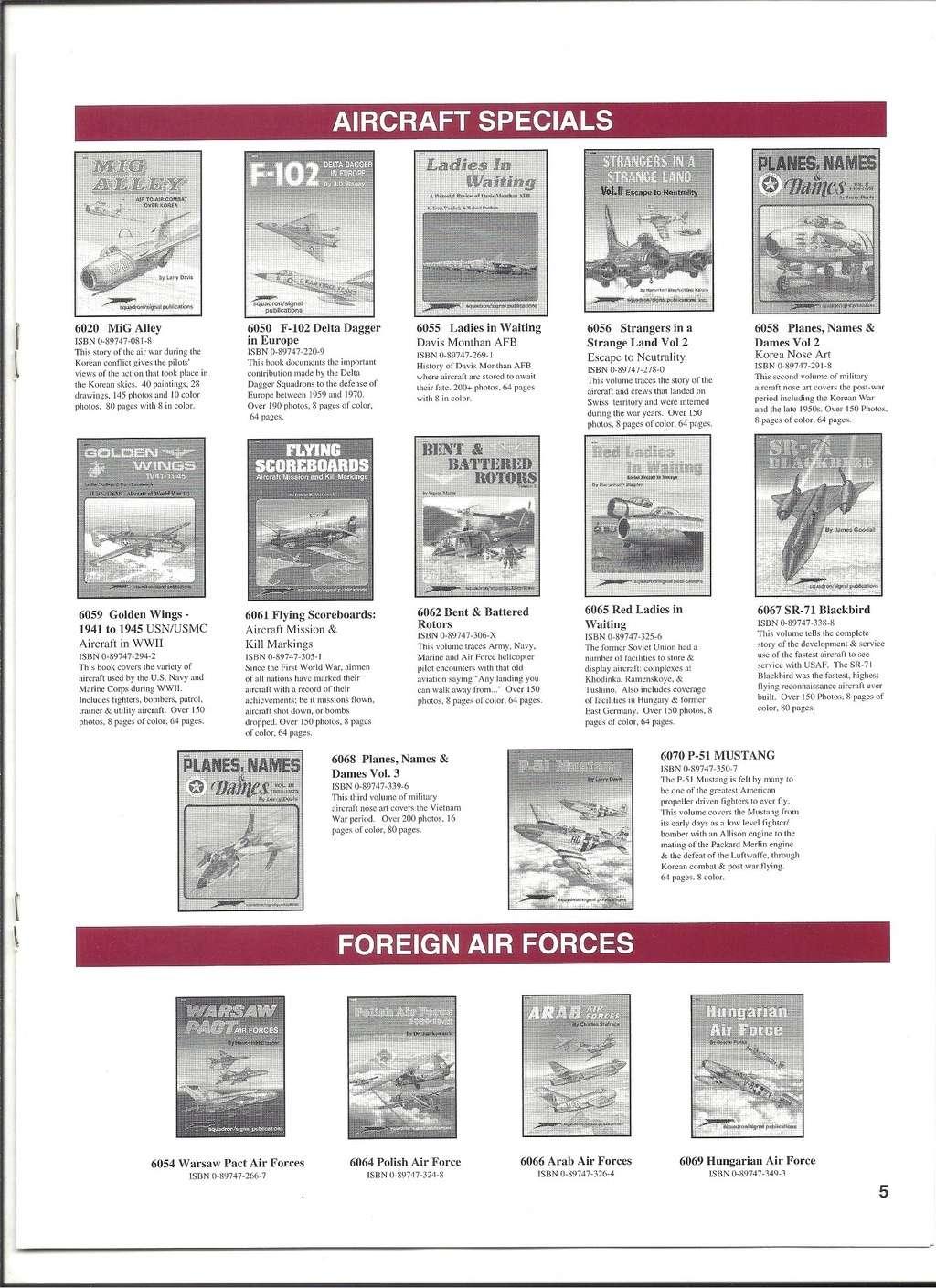 [SQUADRON/ SIGNAL PUBLICATIONS 1996] Catalogue 1996 Squadr28