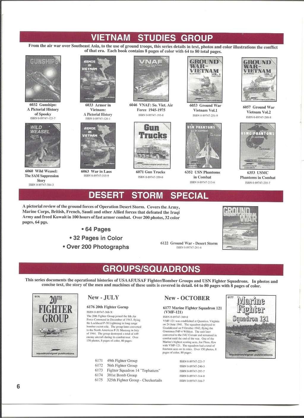 [SQUADRON/ SIGNAL PUBLICATIONS 1996] Catalogue 1996 Squadr29