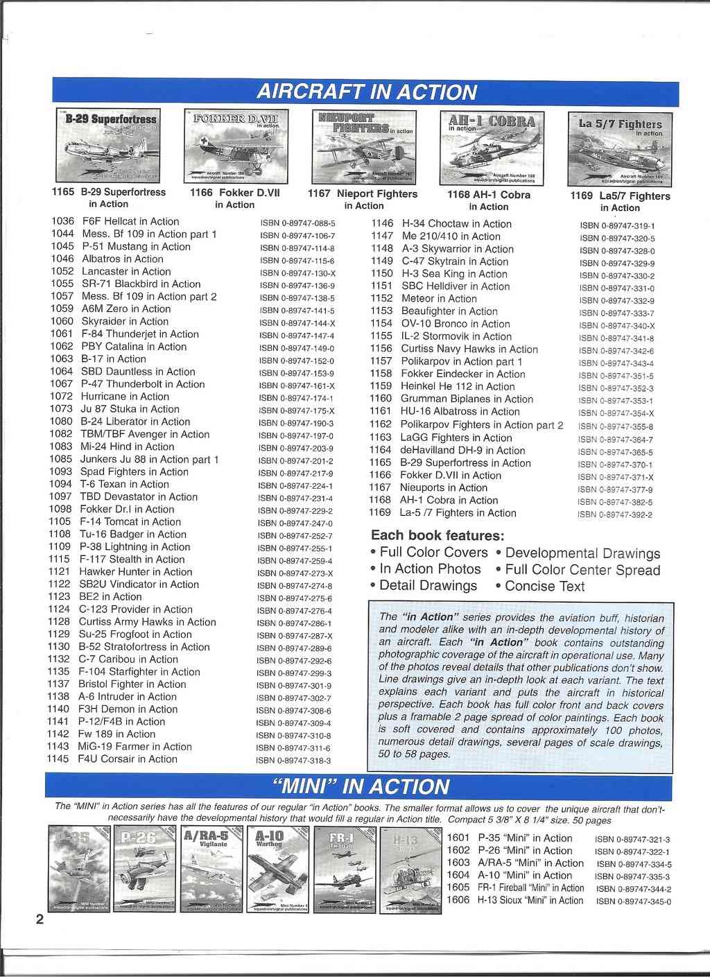 [SQUADRON/ SIGNAL PUBLICATIONS 1999] Catalogue 1999 Squadr32