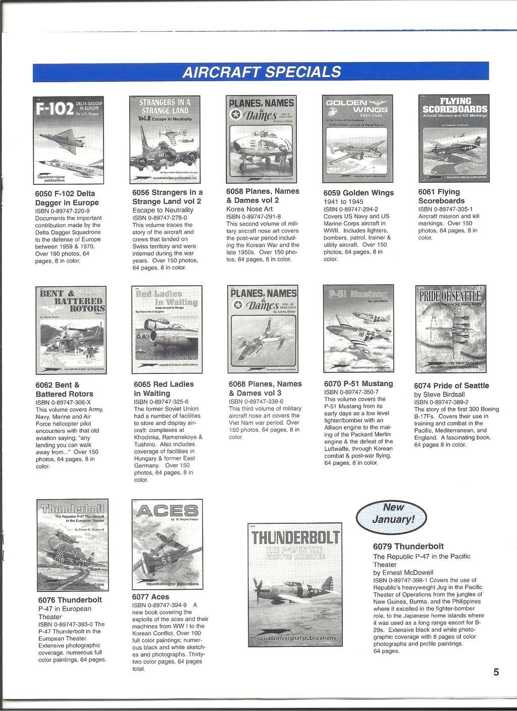 [SQUADRON/ SIGNAL PUBLICATIONS 1999] Catalogue 1999 Squadr35