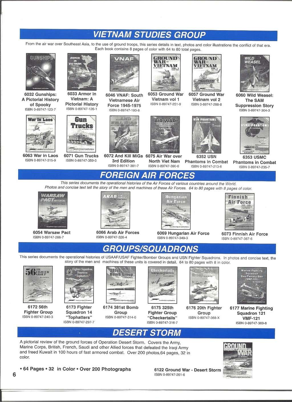 [SQUADRON/ SIGNAL PUBLICATIONS 1999] Catalogue 1999 Squadr36