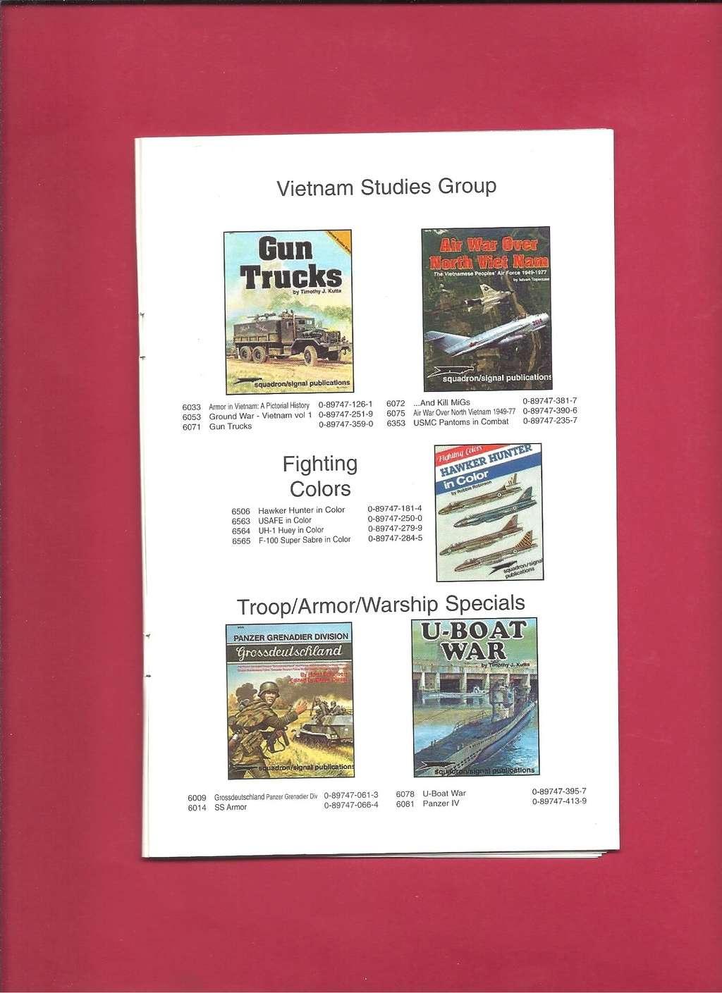 [SQUADRON /SIGNAL PUBLICATIONS 2001] Catalogue printemps 2001 Squadr53