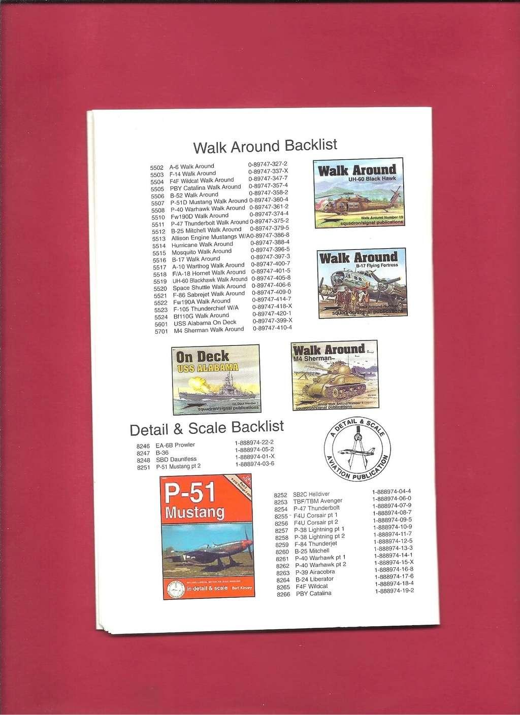 [SQUADRON /SIGNAL PUBLICATIONS 2001] Catalogue printemps 2001 Squadr54