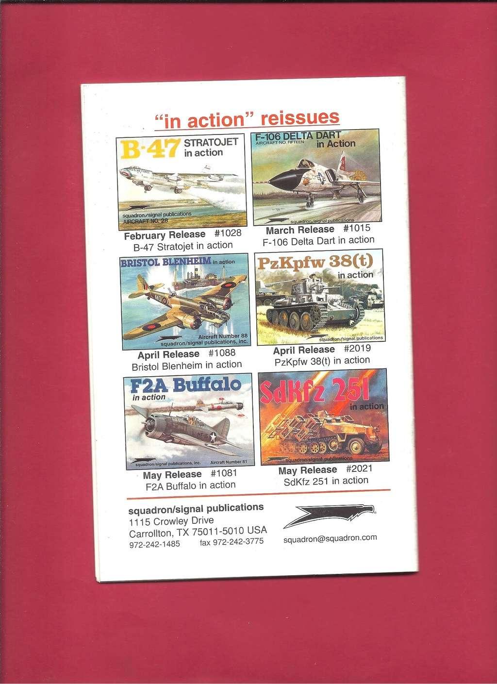 [SQUADRON /SIGNAL PUBLICATIONS 2001] Catalogue printemps 2001 Squadr55