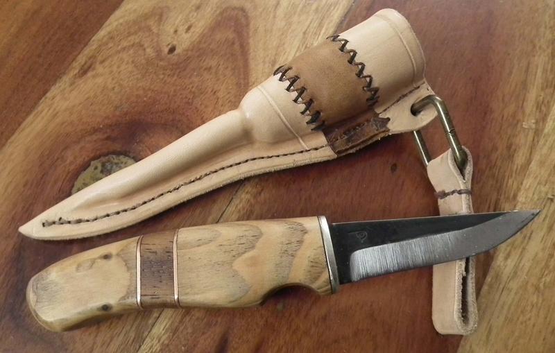Fabrication d'un étui de couteau Sheath30