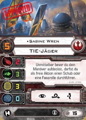 [X-Wing] Komplette Kartenübersicht - Seite 2 Sabine11