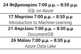 Microsoft: Expert σε Data στο Cloud; Εύκολα! 125