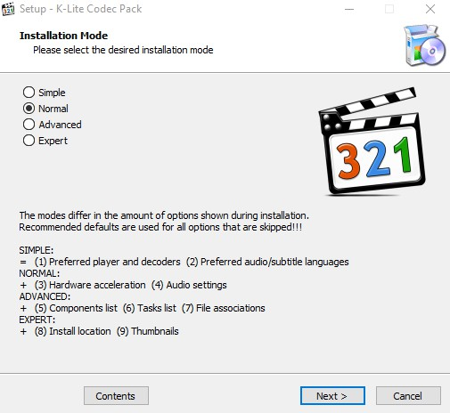 K-Lite Codec Pack 12.9.5 138