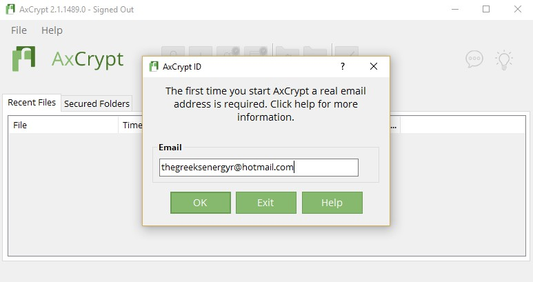 AxCrypt 2.1.1489.0 - Κρυπτογραφήσετε αρχεία και φακέλους 140