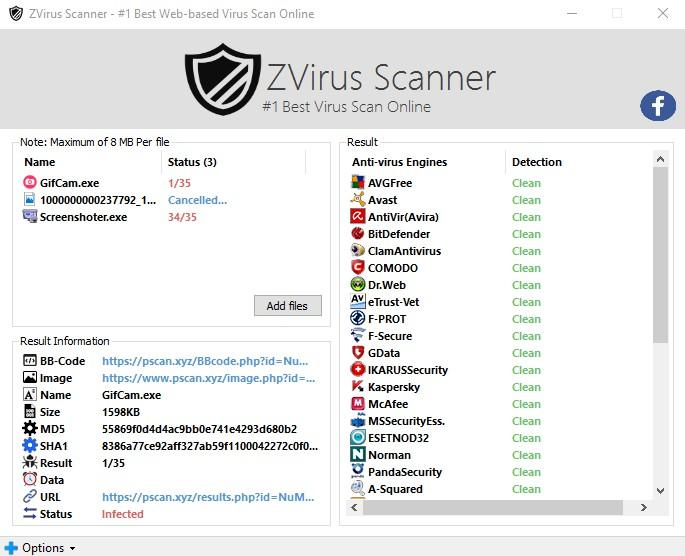[ΝΕΟ] ZVirus Scanner 1.0 142