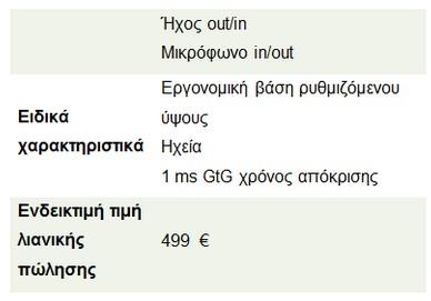 H AOC AGON 240 Hz gaming οθόνη, τώρα διαθέσιμη στην αγορά 316