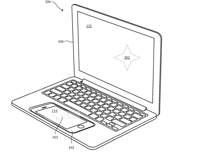 H Apple κατέθεσε δίπλωμα ευρεσιτεχνίας που μετατρέπει το iPhone ή το iPad σε ένα MacBook Apple-10
