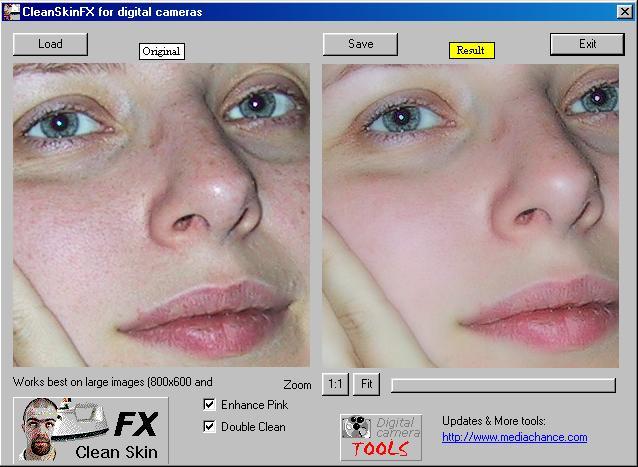 CleanSkinFX 1.0 - Διόρθωσε το πρόσωπο σου Cs110