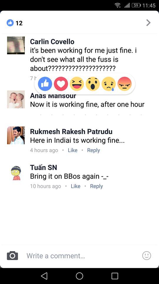 Τα Reactions στα σχόλια στις αναρτήσεις του Facebook είναι πλέον διαθέσιμα  Reacti11