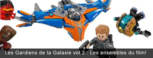 [LEGO] Les Gardiens de la Galaxie Vol. 2 : les ensembles du film Banniy13