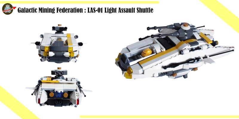 [MOC] Navette d'assaut légère LAS-01 de la Fédération Minière Galactique(Version finale et montage)  Sans_t10