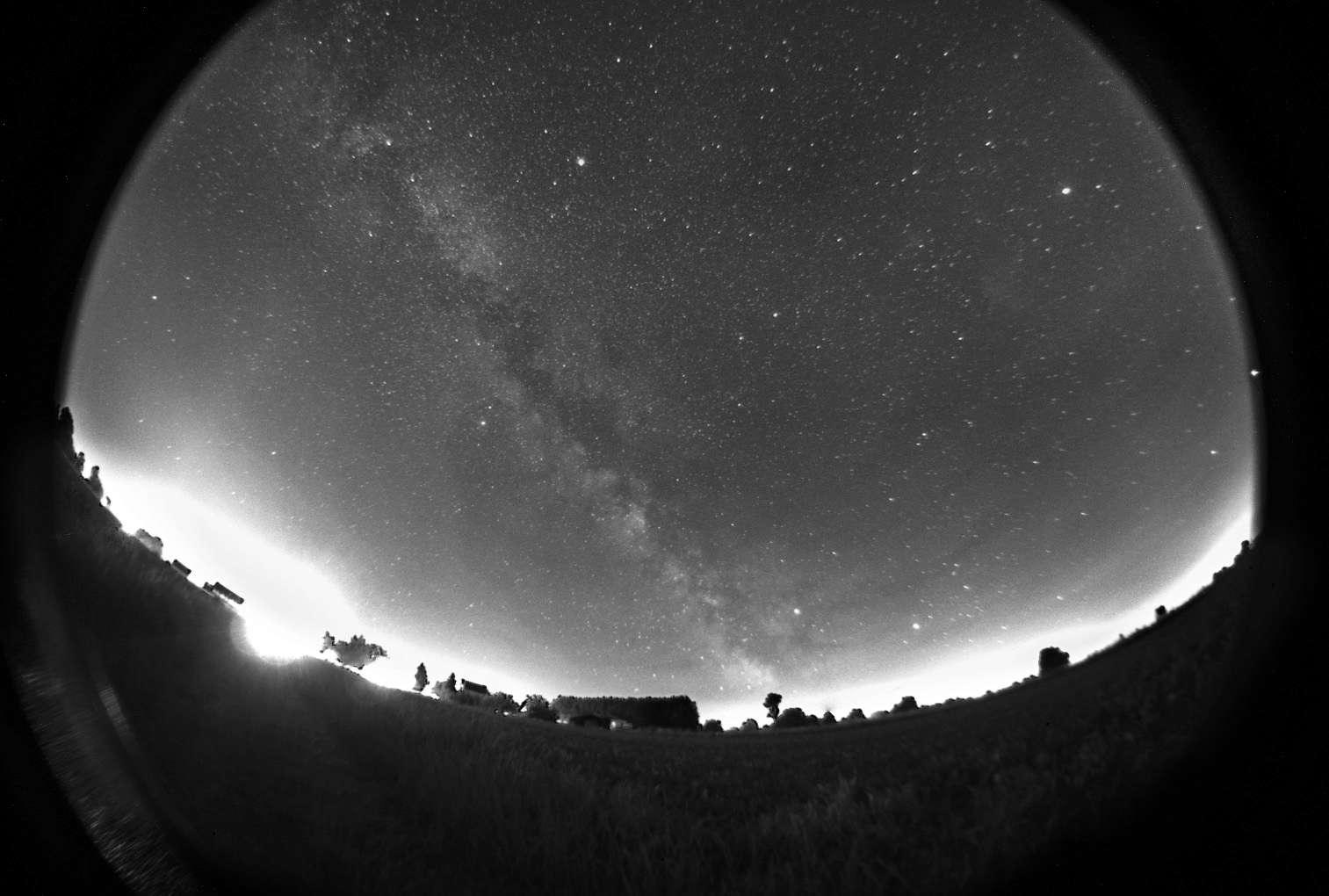 Lune et Voie Lactée Stack110