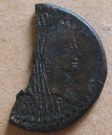 Un dupondius de Nîmes bien martyrisé... Dscf1211