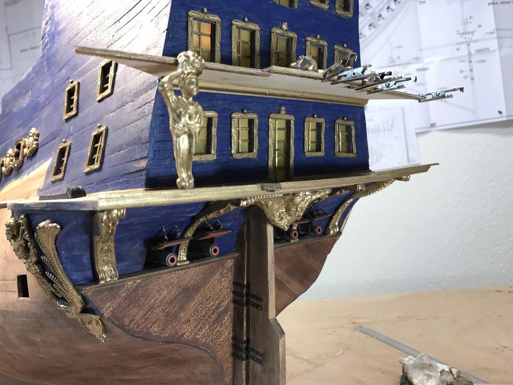 Le Soleil Royal im Maßstab 1:50 nach Plänen von Mantua gebaut von Peter Fischer - Seite 5 Img_0210