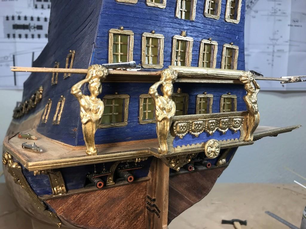 Le Soleil Royal im Maßstab 1:50 nach Plänen von Mantua gebaut von Peter Fischer - Seite 5 Img_0211