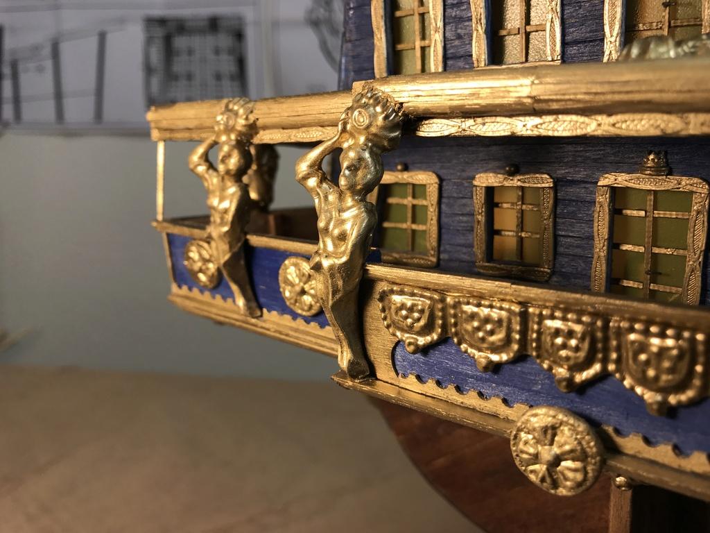 Le Soleil Royal im Maßstab 1:50 nach Plänen von Mantua gebaut von Peter Fischer - Seite 5 Img_0213