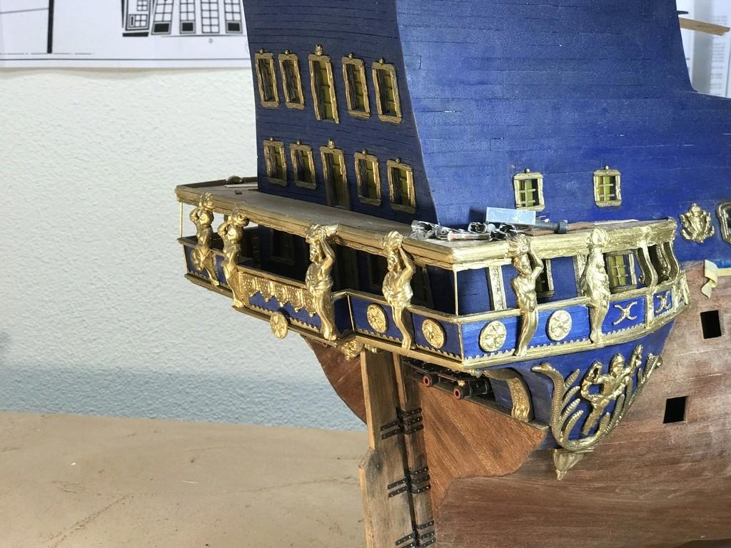 Le Soleil Royal im Maßstab 1:50 nach Plänen von Mantua gebaut von Peter Fischer - Seite 5 Img_0214