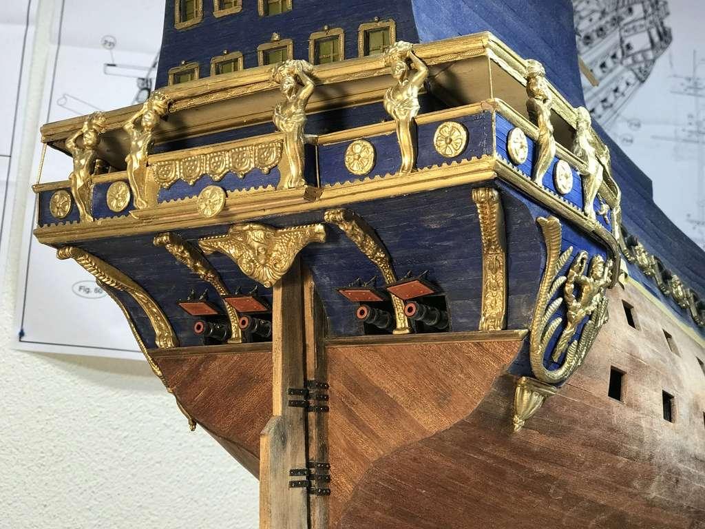 Le Soleil Royal im Maßstab 1:50 nach Plänen von Mantua gebaut von Peter Fischer - Seite 5 Img_0215