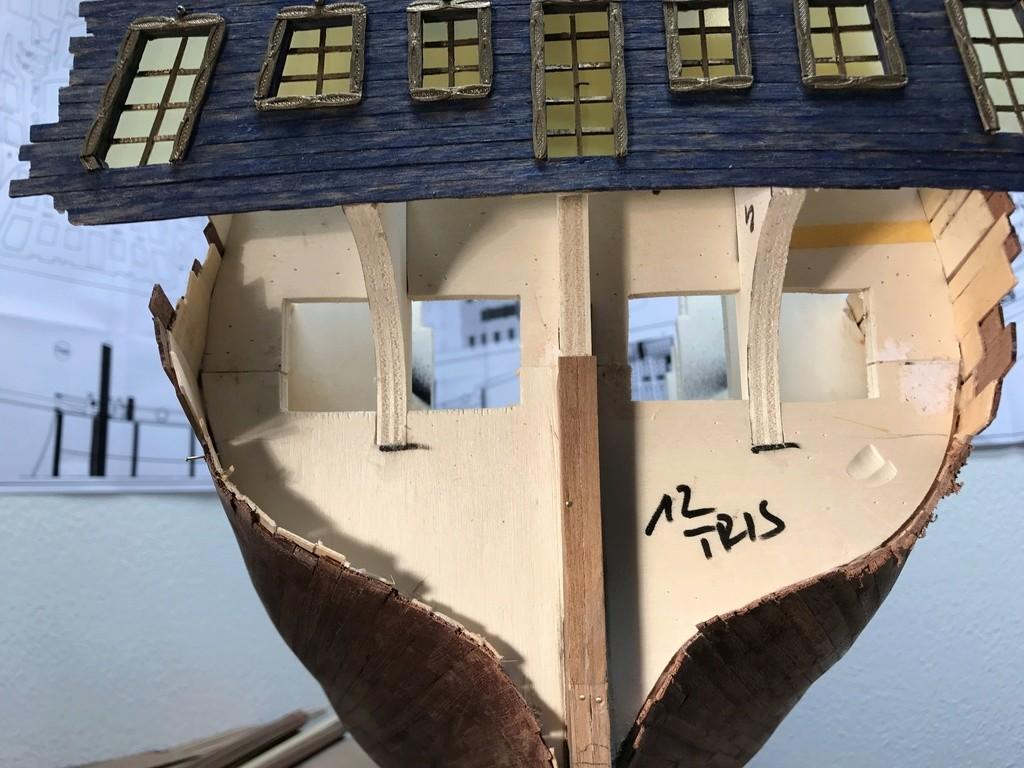 Le Soleil Royal im Maßstab 1:50 nach Plänen von Mantua gebaut von Peter Fischer - Seite 3 Img_9812