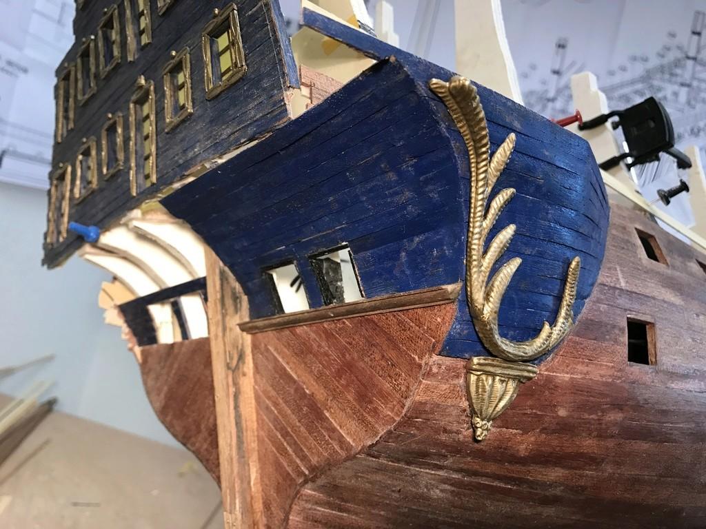 Le Soleil Royal im Maßstab 1:50 nach Plänen von Mantua gebaut von Peter Fischer - Seite 3 Img_9816