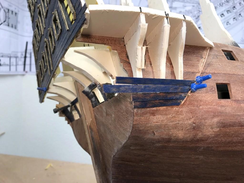 Le Soleil Royal im Maßstab 1:50 nach Plänen von Mantua gebaut von Peter Fischer - Seite 3 Img_9818