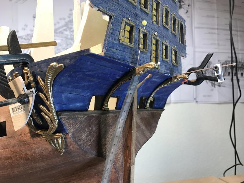 Le Soleil Royal im Maßstab 1:50 nach Plänen von Mantua gebaut von Peter Fischer - Seite 3 Img_9819