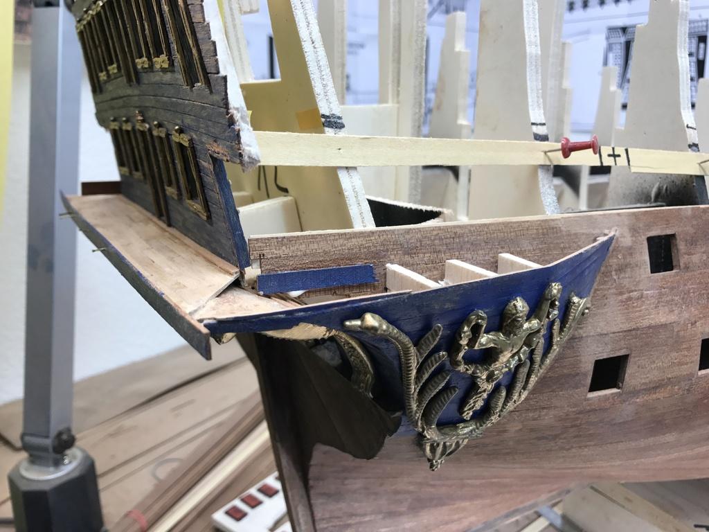 Le Soleil Royal im Maßstab 1:50 nach Plänen von Mantua gebaut von Peter Fischer - Seite 3 Img_9910